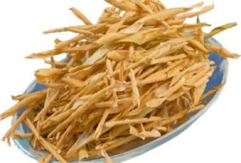 сушёные створки фасоль