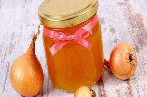 Лук с медом - рецепт приготовления народного средства от насморка и кашля, применение для детей и взрослых
