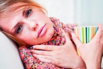 Тонзиллит. Домашнее лечение