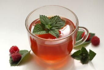 Польза и вред чая из листьев малины, рецепты