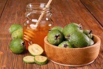 Рецепт: фейхоа с медом для лечения щитовидки.