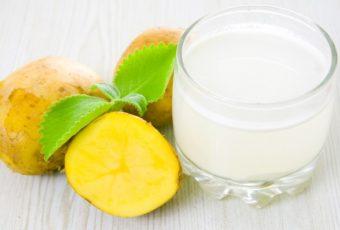 Картофельный сок - естественный способ похудеть и стать моложе